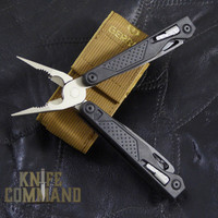 Gerber MP1-MRO Maintenance, Repair, & Operations Tool Butterfly Opening Multi-Tool.  Spring loaded plier jaws made of forged steel, providing the ultimate in jaw strength.