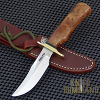 Randall Made Knives Model 8-4X Old Style Bird and Trout Thuya Fighter Style Knife.  Custom Thuya handle.