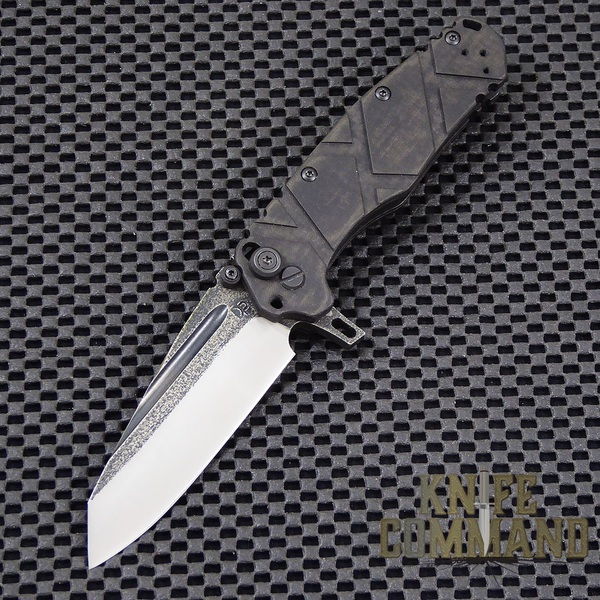Wander Tactical Custom Sköll Wolf Extreme Duty Folding Knife.  Custom blade and handles.
