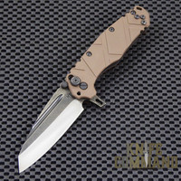 Wander Tactical Custom Sköll Wolf Extreme Duty Folding Knife.  Custom blade and G10 handles.