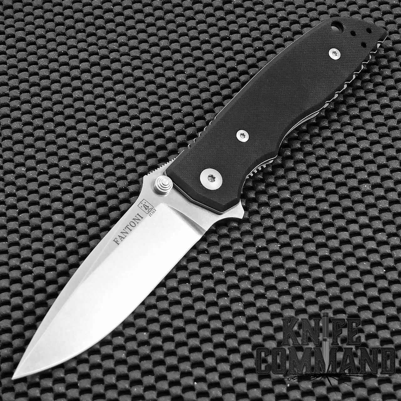 Fantoni HB 01 William Harsey Limited Edition CPM S125V G10 Combat Folder Tactical Knife.  Top of the line.