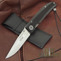 Klotzli Knives Michael Walker 03 Tactical Folding Knife Black WALK-03-TAC-C.  Tactically civilized.