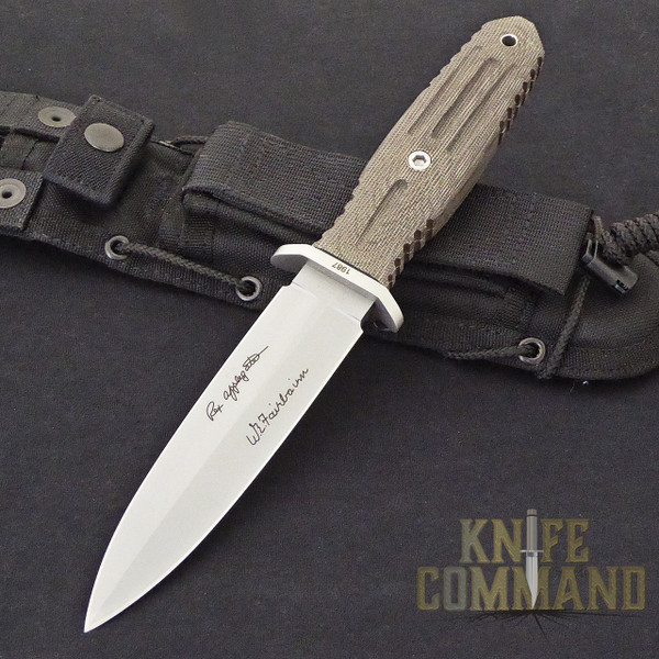 Boker Applegate-Fairbairn A-F 5.5 Harsey Combat Knife 120545.  Top shelf combat fighter.