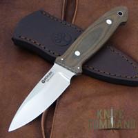 Boker Cub Lucas BurnleyEDC Fixed Blade Knife 120661.   A beautiful custom collaboration.