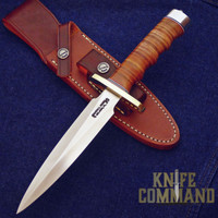 Randall Made Knives Model 2 6 SS Fighting Stiletto Knife 14 Grips.  Combat ready options.