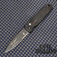 Gerber Mini Covert Automatic Knife, Black, CPM-S30V, 30-000244.  Mini sized.