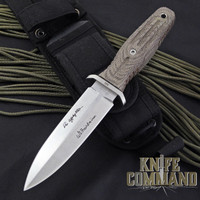 "Boker Applegate-Fairbairn A-F 4.5 Harsey Combat Knife 120644.  Compact design with 4-1/2"" blade."