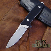 Fantoni HB Fixed Blade William Harsey Combat Tactical Knife S35VN Leather.  Excellent all around fixed blade.