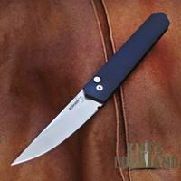 Boker Pro-Tech Burnley Kwaiken Automatic Knife Stonewash 06EX291.  Lucas Burnley design.