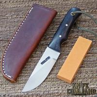 Randall Made Knives Model 10 – 3 Rosewood Salt Fisherman & Household Utility Knife.  Dark Rosewood handles.