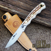 S30V blade and Stag handle.