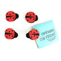 Clip Magnets - Ladybug