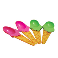 Set of Four Ice Cream Sundae Spoons