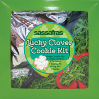 Lucky Clover Cookie Kit