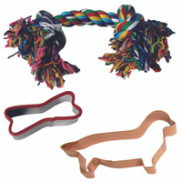 Dachshund Dog Toy Set