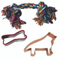 German Shepard Dog Toy Set