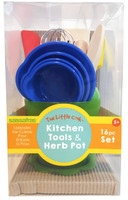 The Little Cooks™  Tool Kit with Herb Pot