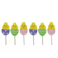 Easter Egg Chick Candles
