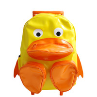 Vinyl Duck Pull-Along Backpacks