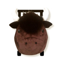 Benjamin Buffalo Plush Pull-Along