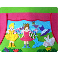 Two Ballerinas Fun Felt