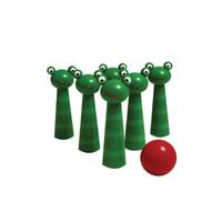 Frog Bowling Pin Set
