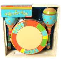 Bright Stripe 3-Piece Instrument Set