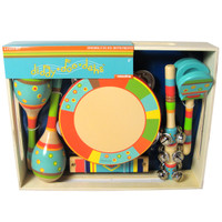 Bright Stripe 6-Piece Instrument Set