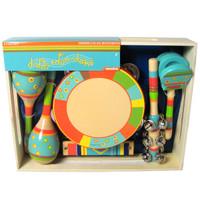 Bright Stripe 6-Piece Instrument Set