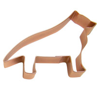German Shepherd Copper Cookie Cutter