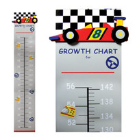 Race Car Growth Chart