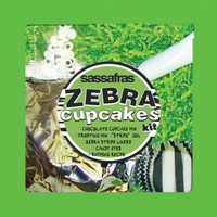 Kid's Zebra Cupcakes Tray Kit