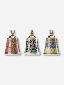 Versace Bell Ornaments Set of 3