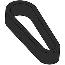 Flipper Rubber (Standard Size) - Black