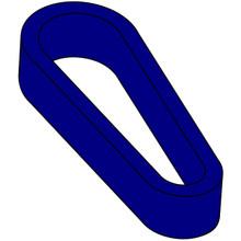 Flipper Rubber (Standard Size) - Blue