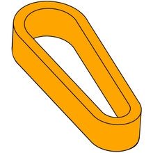 Flipper Rubber (Standard Size) - Orange