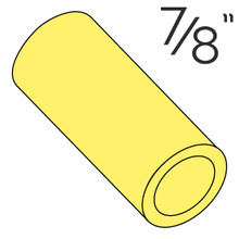 "7/8"" Yellow Rubber Post Sleeve"