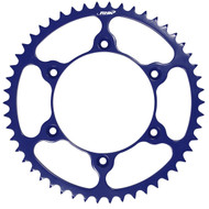 RHK YAMAHA SUPER LITE STEEL BLUE REAR SPROCKET- choose gearing