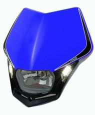 RACETECH V-FACE BLUE HEADLIGHT