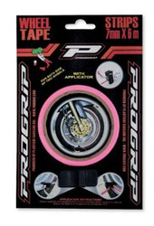 Progrip Pink Fluro Wheel Tape