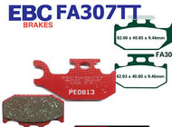 EBC Grizzly 400/450 Rear Brake Pad FA307