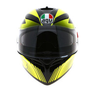 AGV K3 Glimpse - Black Metal / Yellow