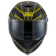 AGV K5 Hero Black/Yellow Fluo