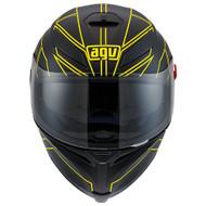 AGV K5 Hero Black/Yellow Fluo