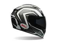 Bell Qualifier ECE Machine Helmet - White / Black