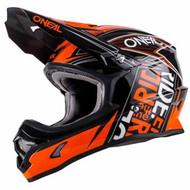 Oneal 2018 3 Series Fuel Helmet - Black / Orange