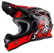 Oneal 3 Series Fuel Helmet BLK/RED