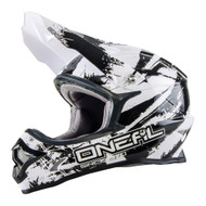 Oneal 2017 3 Series Shocker Helmet - Black / White