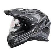 Oneal Sierra Dual Sport Helmet Matt GRY/BLK/WHT