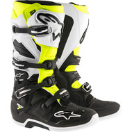 Alpinestars Tech 7 Boots -  Black / White / Yellow